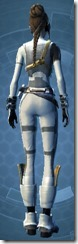 Overwatch Officer - Female Back