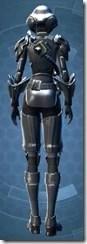 Battlefield Commander - Female Back