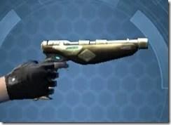 Crystalline Boltblaster's Blaster Pistol MK-3 Right