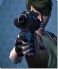Crystalline Demolisher's Blaster Pistol MK-3 Front