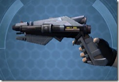 Crystalline Demolisher's Blaster Pistol MK-3 Left