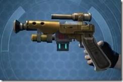 Dallorian Ultrachrome Blaster Pistol Left