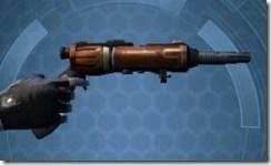 Decorated Boltblaster's Blaster Pistol MK-3 Right