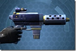 Decorated Targeter's Blaster Pistol MK-3 Right