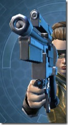 Defiant Blaster Pistol MK-26 Front