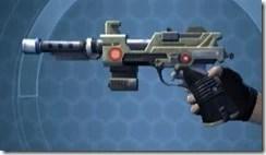 Fractured Boltblaster's Blaster Pistol MK-3 Left