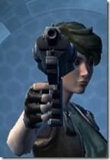 Fractured Targeter's Blaster Pistol MK-3 Front