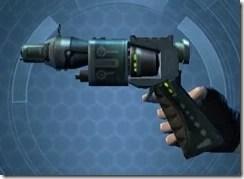 Fractured Targeter's Offhand Blaster MK-3 Left