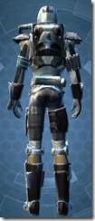Mandalorian Seeker - Male Back
