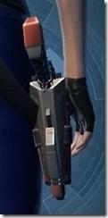 Plastifiber Polyfibe Blaster Pistol Stowed