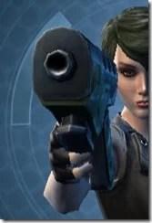 Plexoid Plexisteel Blaster Pistol Front