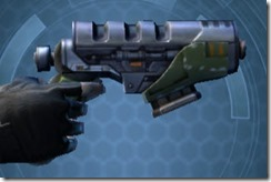 Plexoid Plexisteel Blaster Pistol Right