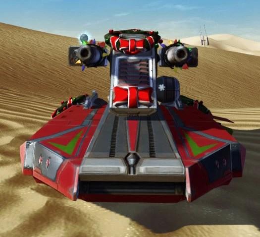 Snowstorm Assault Speeder Front