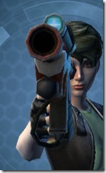 Thermal Boltblaster's Blaster Pistol MK-3 Front