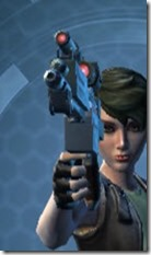 Thermal Targeter's Blaster Pistol MK-3 Front