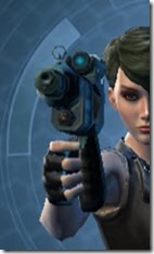 Thermal Targeter's Offhand Blaster MK-3 Front