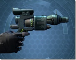 Thermal Targeter's Offhand Blaster MK-3 Right