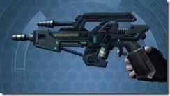 Transparisteel Permacrete Blaster Pistol Left