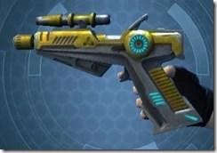 Yavin Targeter's Offhand Blaster MK-3 Left
