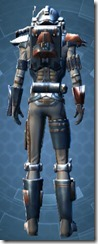 Crystalline Boltblaster's MK-3 - Male Back