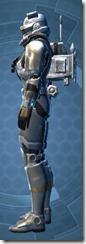 Crystalline Boltblaster's MK-3 - Male Left