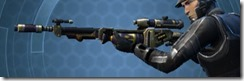 Crystalline Targeter's Sniper Rifle MK-3 Left