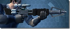 Dallorian Asylum Onslaught Blaster Rifle Right