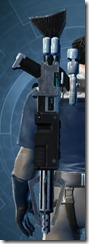 Dallorian Asylum Onslaught Blaster Rifle Stowed