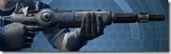 Decorated Boltblaster's Blaster Rifle MK-3 Right