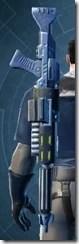 Decorated Demolisher's Blaster Rifle MK-3 Stowed