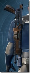 Decorated Targeter's Blaster Rifle MK-3 Stowed
