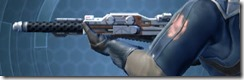 Flexiglas Asylum Onslaught Blaster Rifle Left