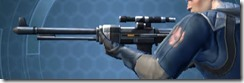 Plexoid Asylum Onslaught Blaster Rifle Left