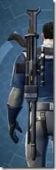 Plexoid Asylum Onslaught Blaster Rifle Stowed