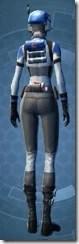 Requisitioned Boltblaster's MK-3 - Female Back