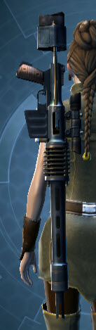 Commander's Sniper Rifle Stowed