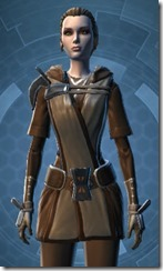 Exiled Knight - Female Close
