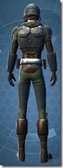 Havoc Squad Officer - Male Back