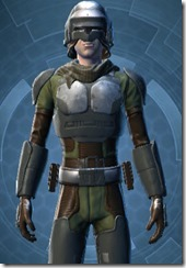 Havoc Squad Officer - Male Close
