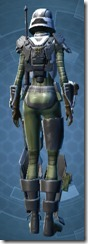 Havoc Squad Specialist - Female Back