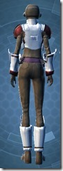 Imperial Field Agent - Female Back