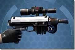Insurrectionist's Blaster Right