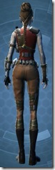 Resistance Fighter - Female Back
