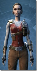 Resistance Fighter - Female Close