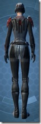 Blade Tyrant - Female Back