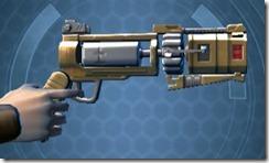 HK-55s Blaster Pistol Right