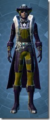 TD-07A Blackguard Dyed Front