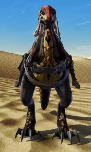 Terrowclaw Raptor Front