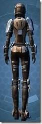 Outlander Soldier - Female Back