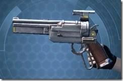 Outlander's Blaster Pistol MK-6 Left